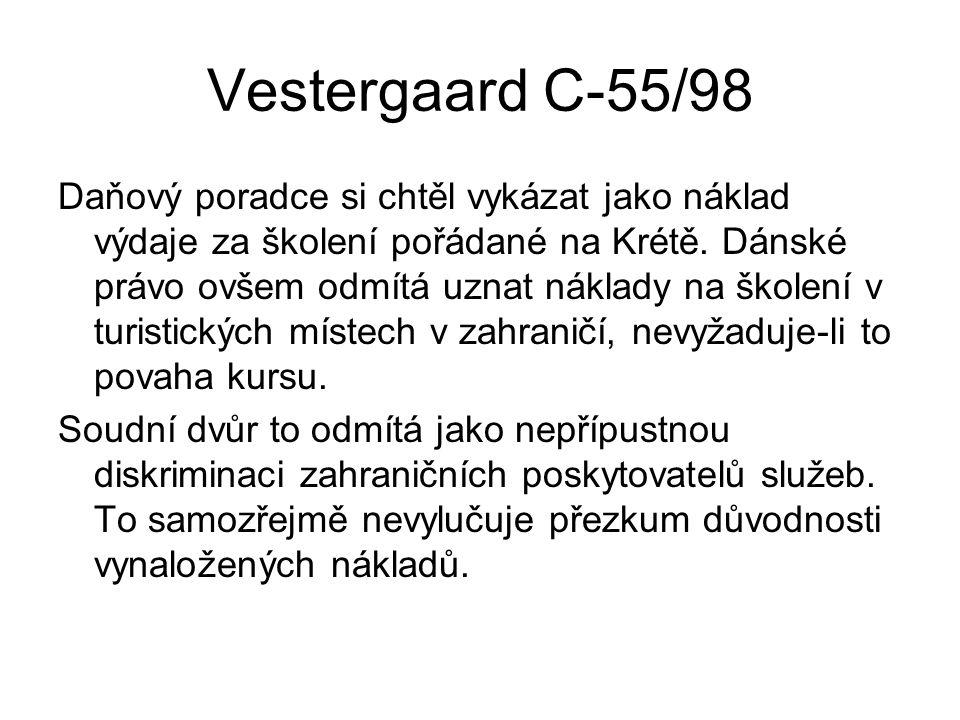 Vestergaard C-55/98