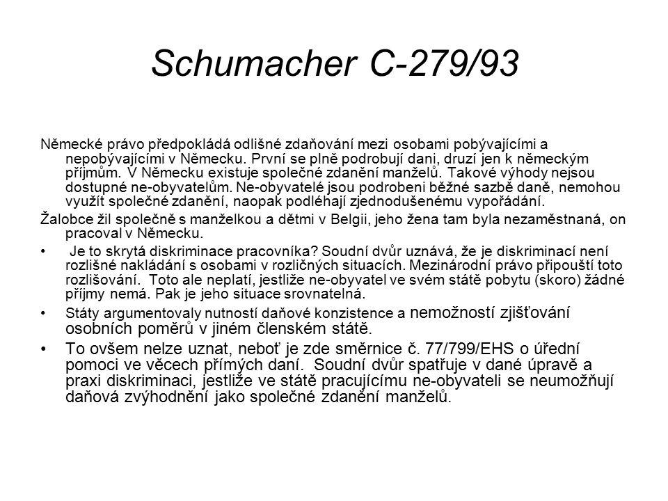 Schumacher C-279/93