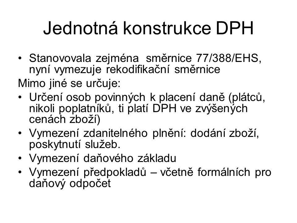 Jednotná konstrukce DPH