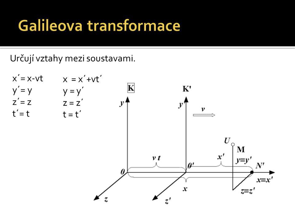Galileova transformace