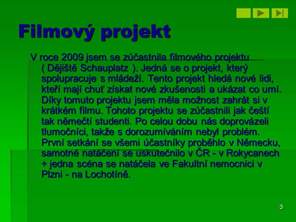 Filmový projekt