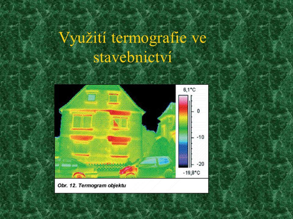 Využití termografie ve stavebnictví