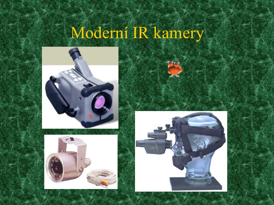 Moderní IR kamery