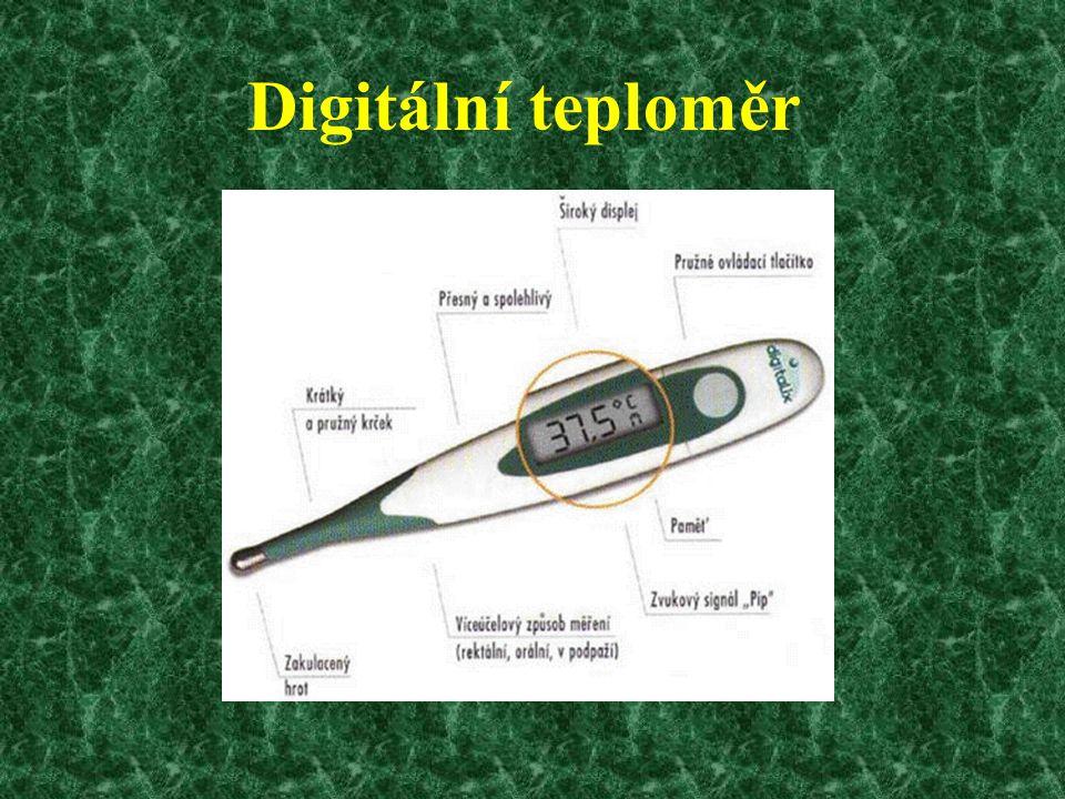 Digitální teploměr