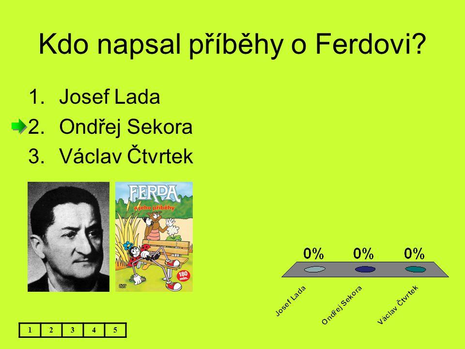 Kdo napsal příběhy o Ferdovi