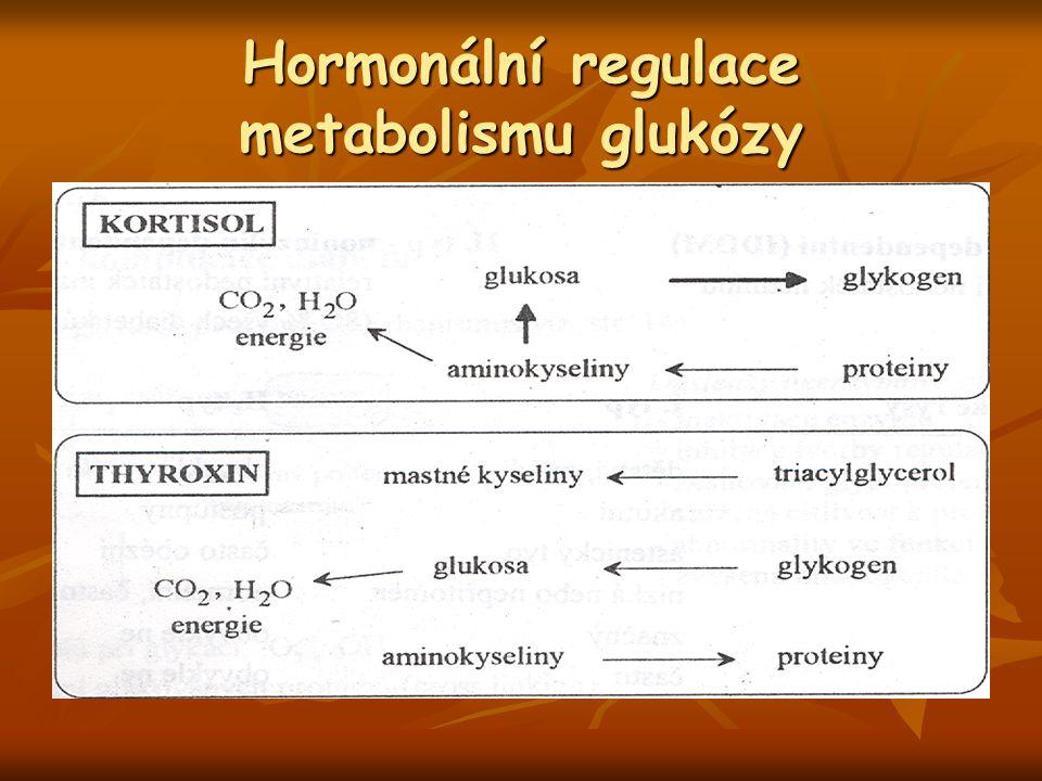 Hormonální regulace metabolismu glukózy