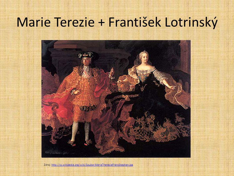 Marie Terezie + František Lotrinský