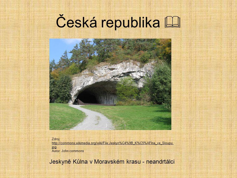 Česká republika  Jeskyně Kůlna v Moravském krasu - neandrtálci