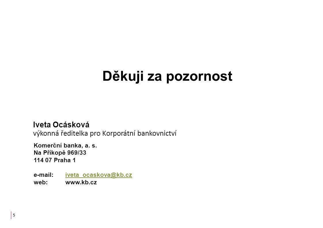 Děkuji za pozornost Iveta Ocásková