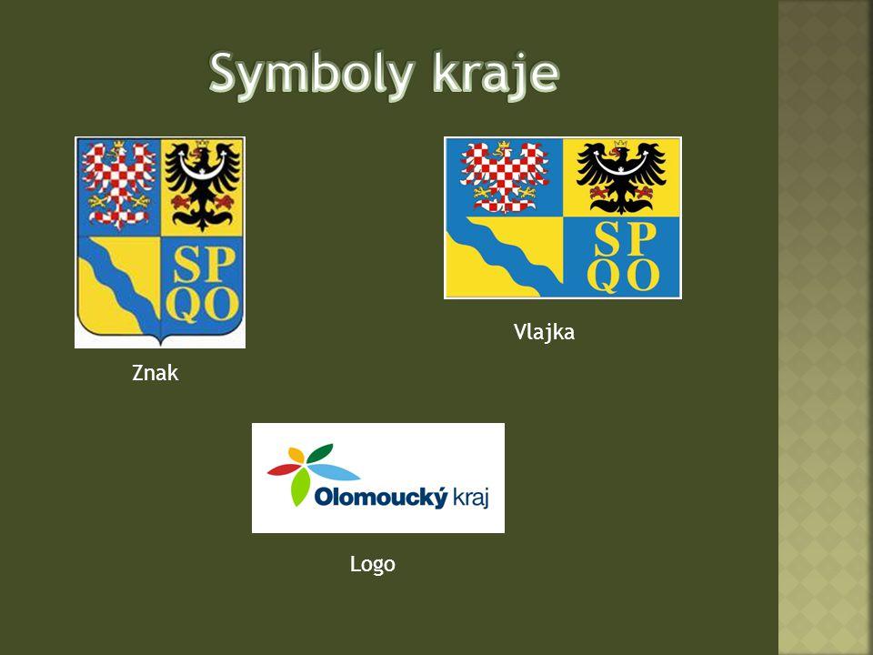Symboly kraje Vlajka Znak Logo