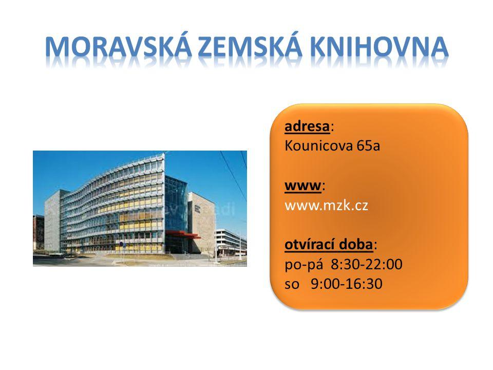 Moravská zemská Knihovna