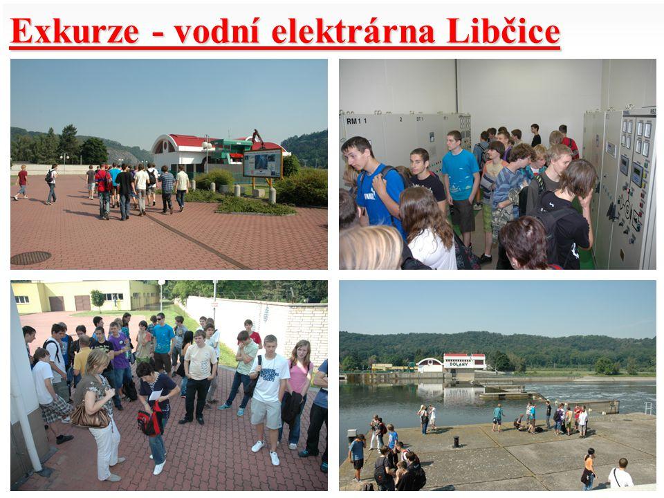 Exkurze - vodní elektrárna Libčice