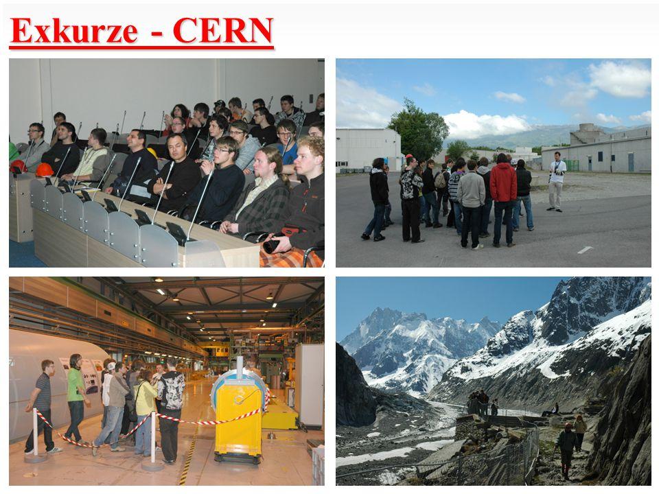 Exkurze - CERN