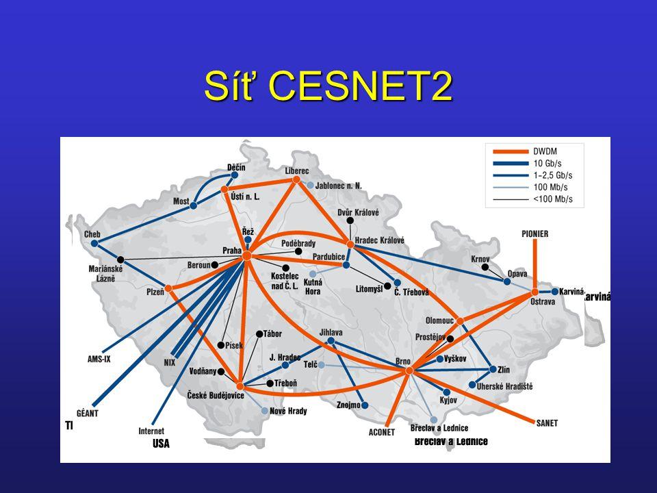 Síť CESNET2