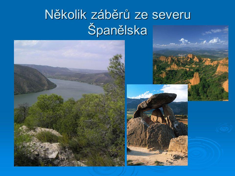 Několik záběrů ze severu Španělska