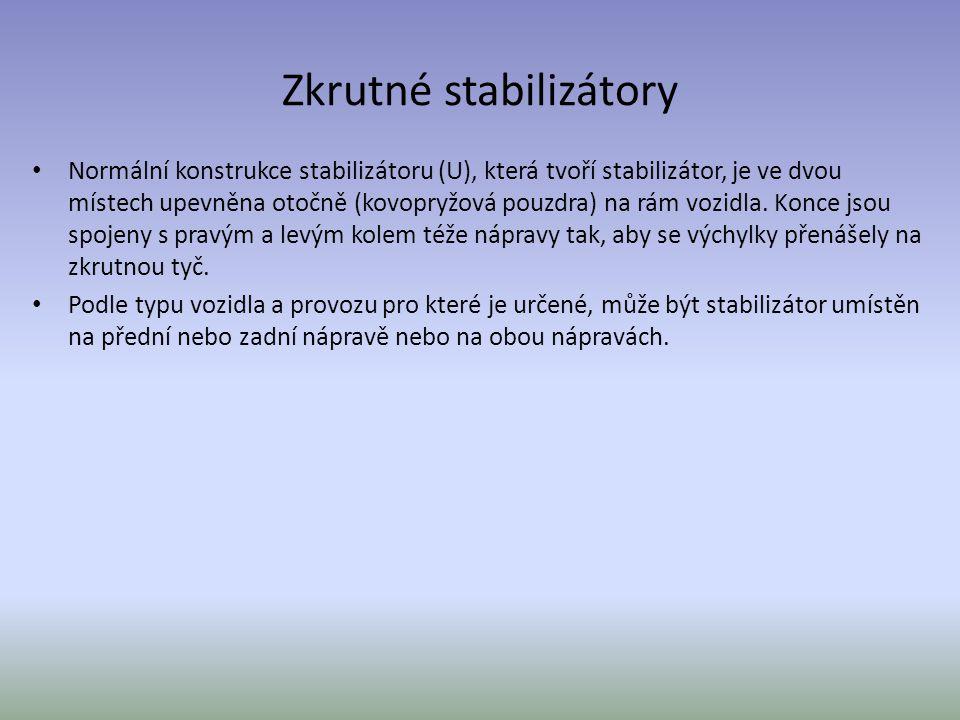 Zkrutné stabilizátory