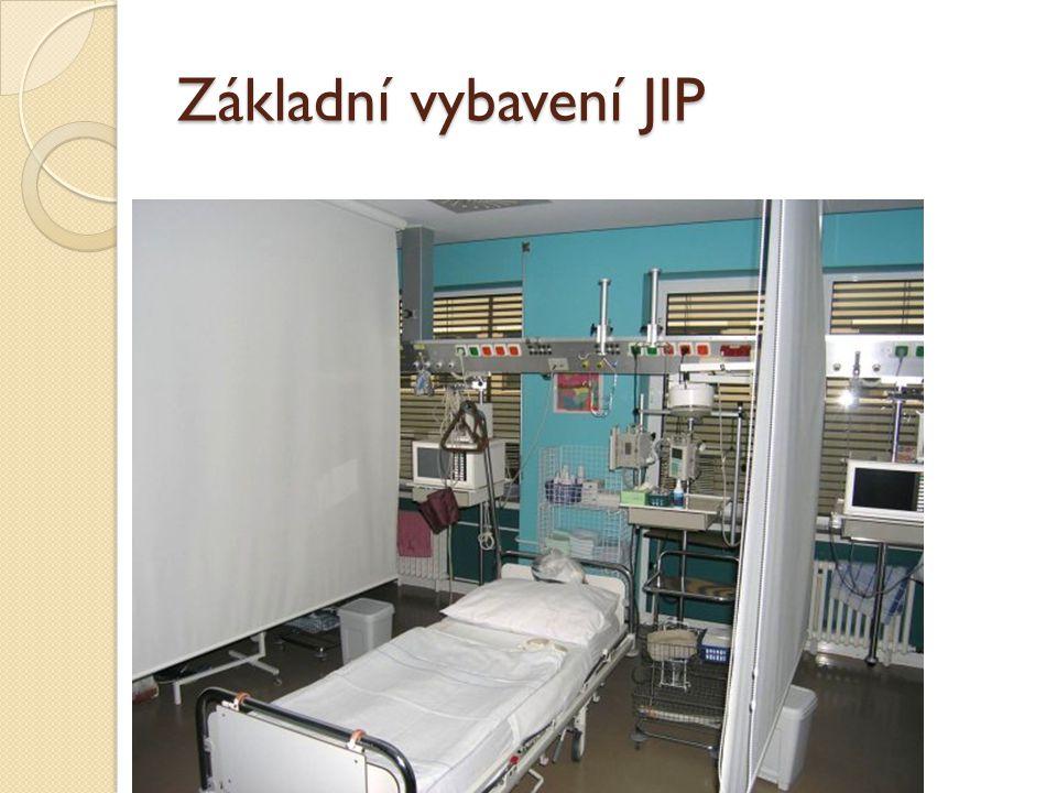 Základní vybavení JIP