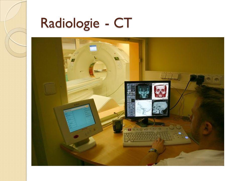 Radiologie - CT