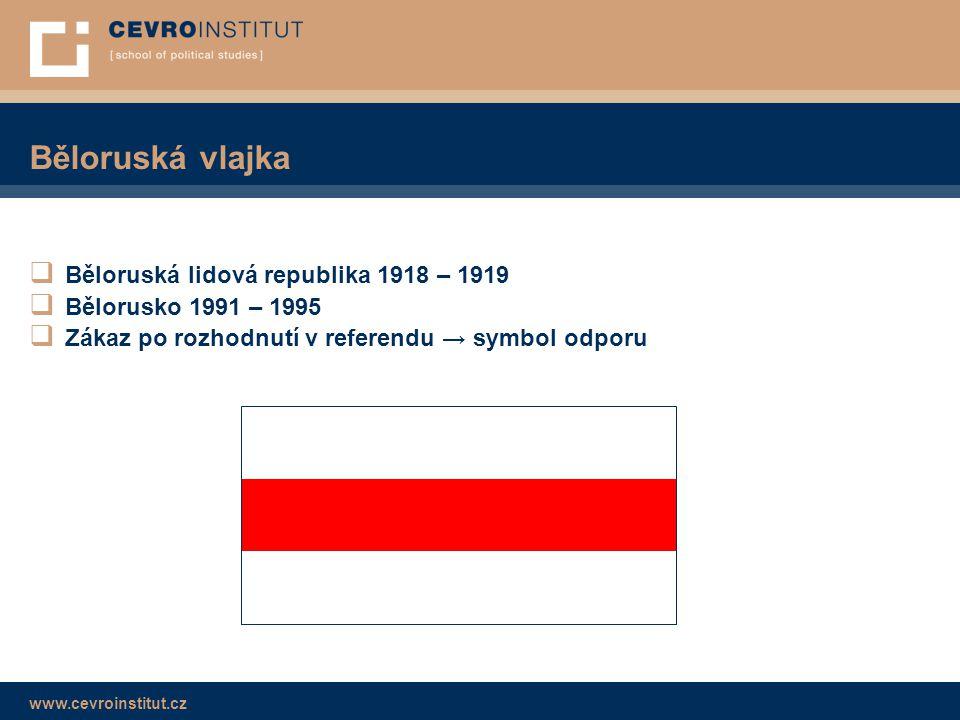 Běloruská vlajka Běloruská lidová republika 1918 – 1919