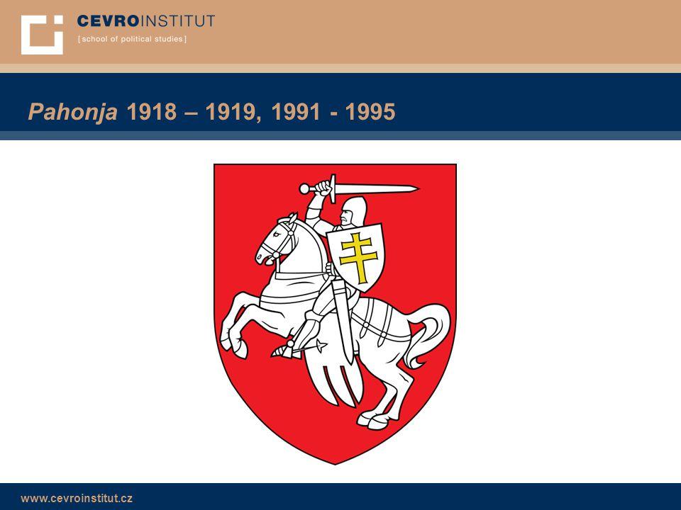 Pahonja 1918 – 1919, 1991 - 1995