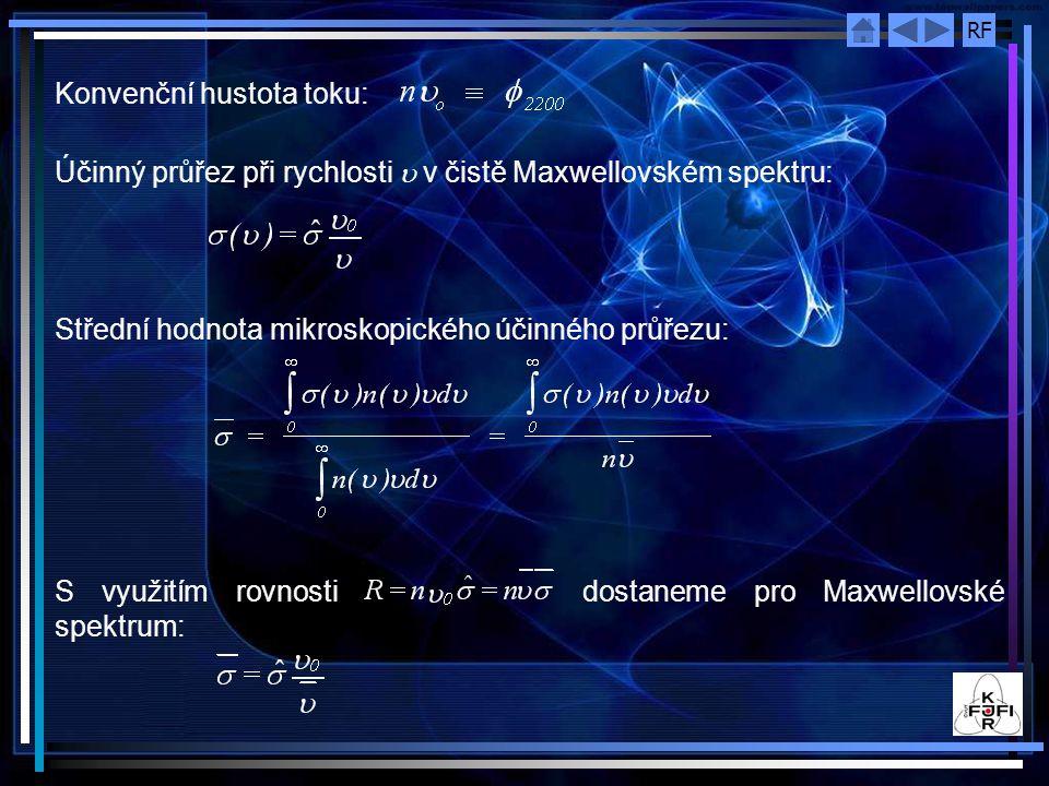 Konvenční hustota toku: