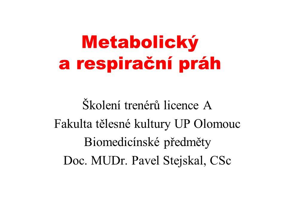 Metabolický a respirační práh