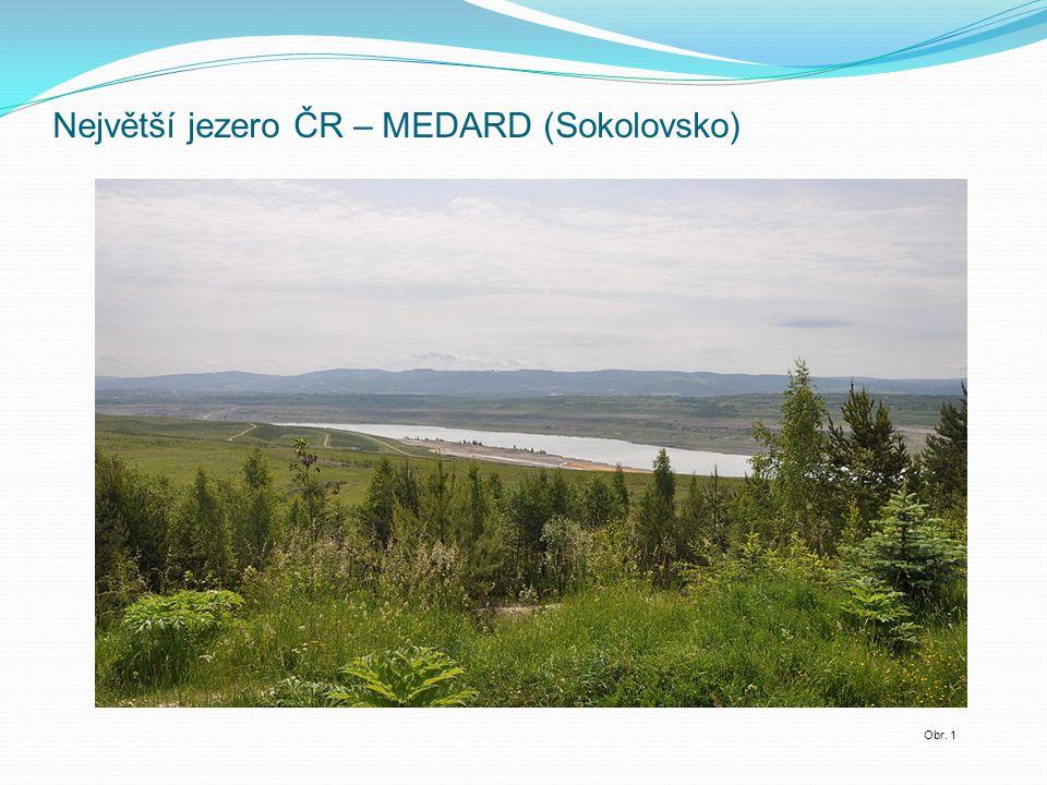 Největší jezero ČR – MEDARD (Sokolovsko)