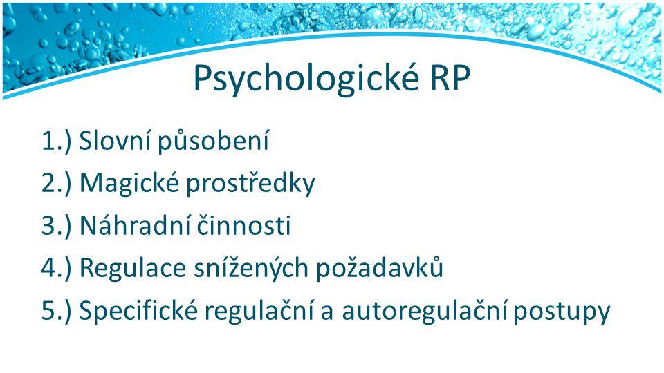 Psychologické RP