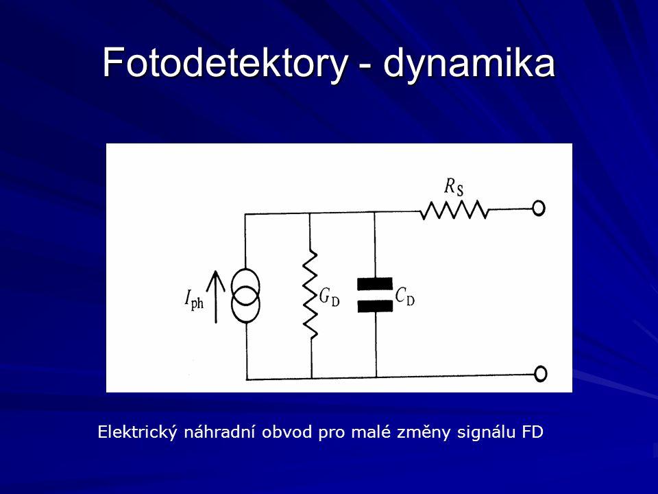 Fotodetektory - dynamika