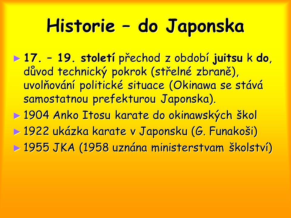 Historie – do Japonska
