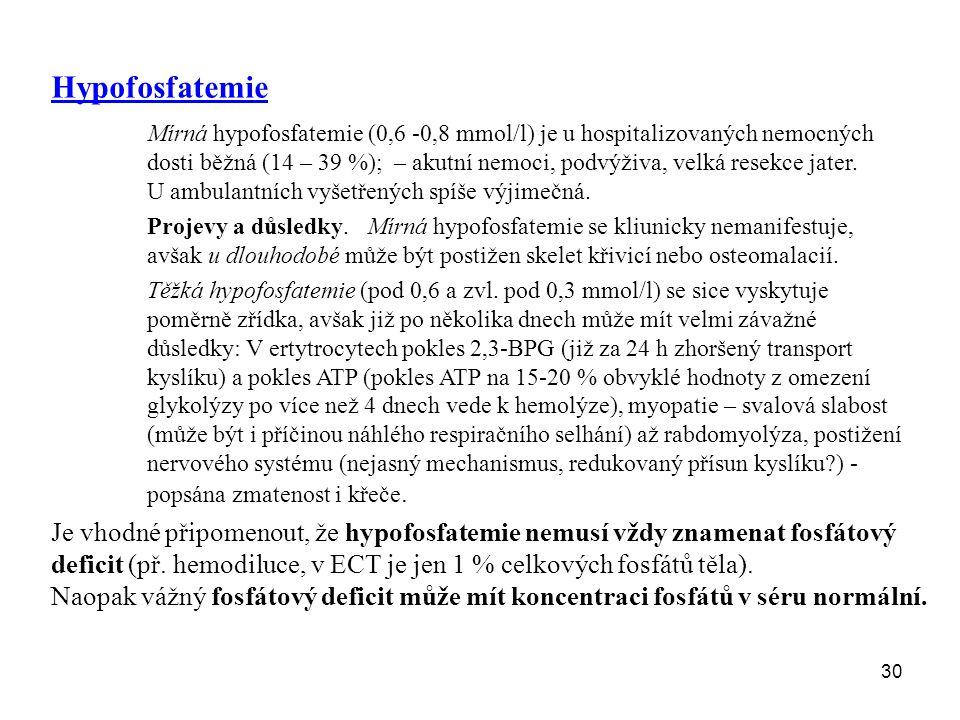 Hypofosfatemie