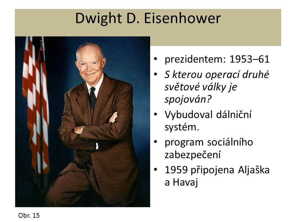 Dwight D. Eisenhower prezidentem: 1953–61