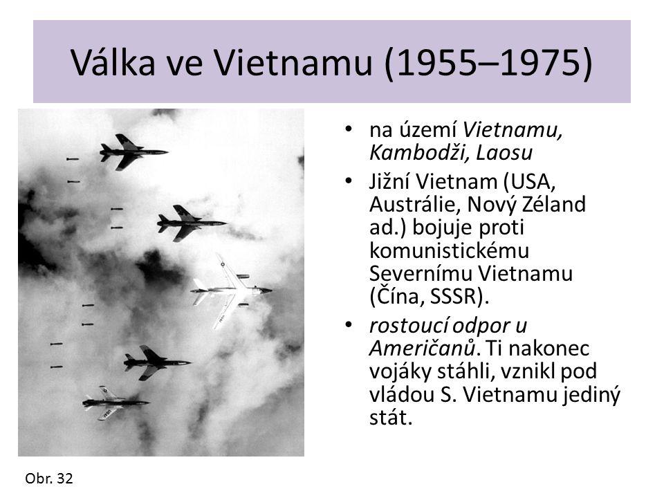 Válka ve Vietnamu (1955–1975) na území Vietnamu, Kambodži, Laosu