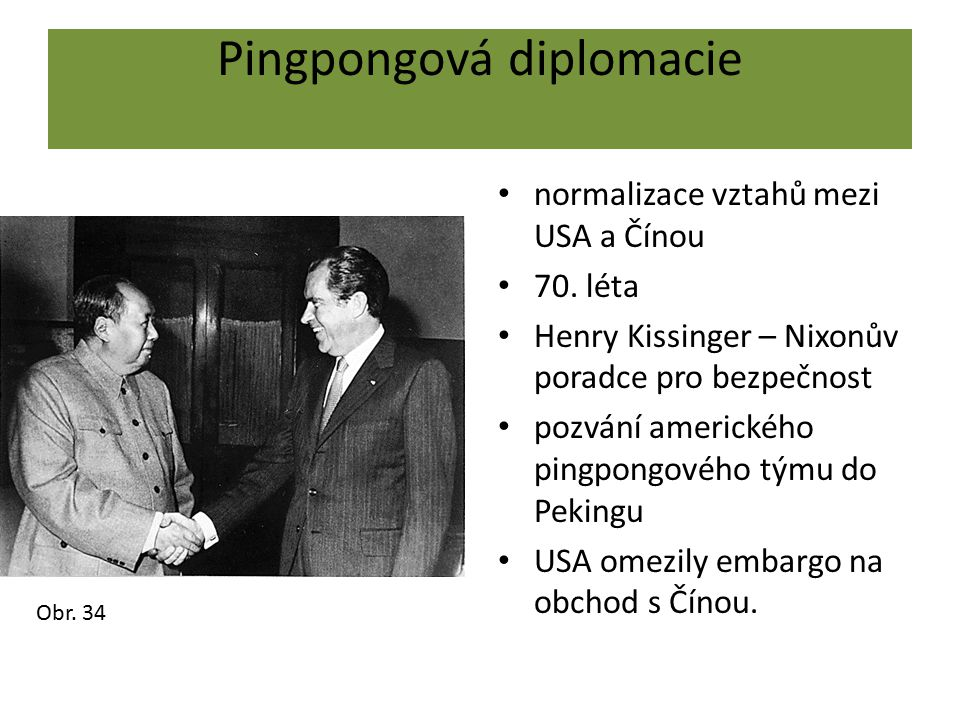 Pingpongová diplomacie