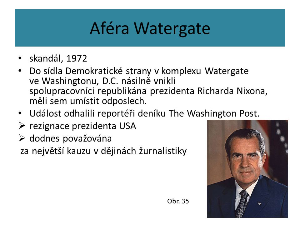 Aféra Watergate skandál, 1972