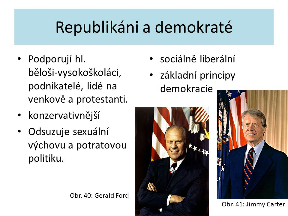 Republikáni a demokraté