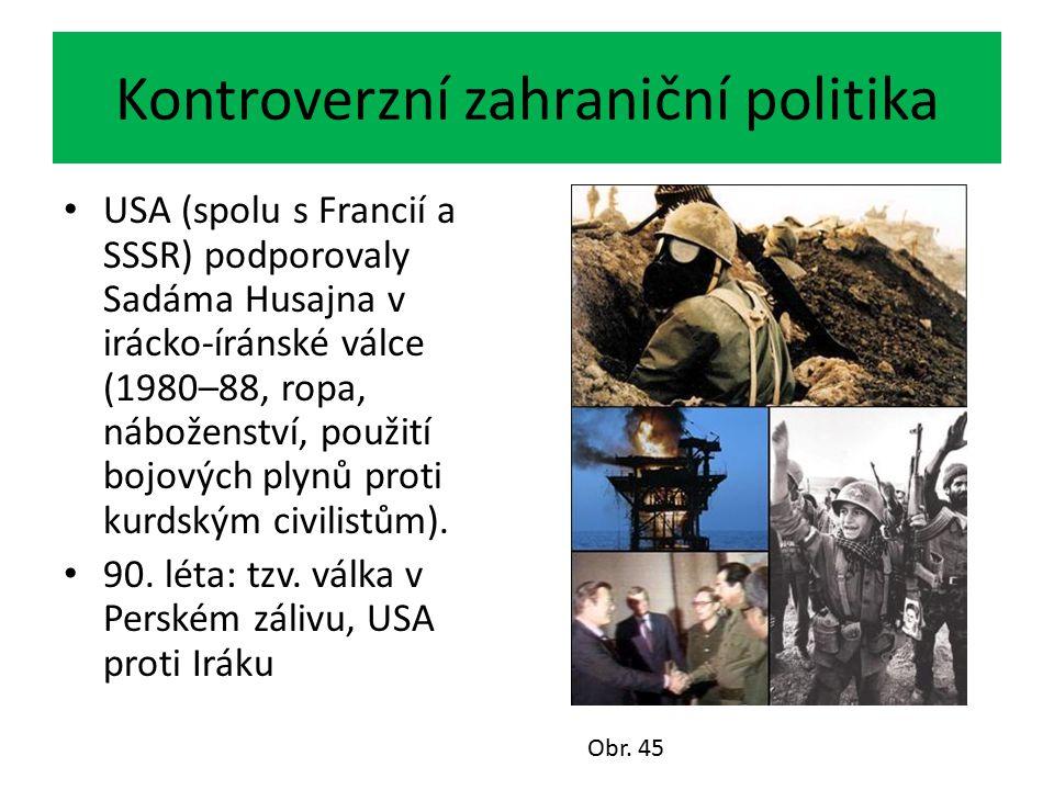 Kontroverzní zahraniční politika