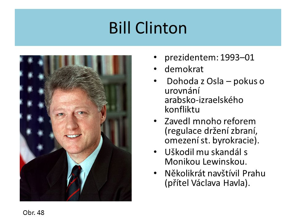 Bill Clinton prezidentem: 1993–01 demokrat