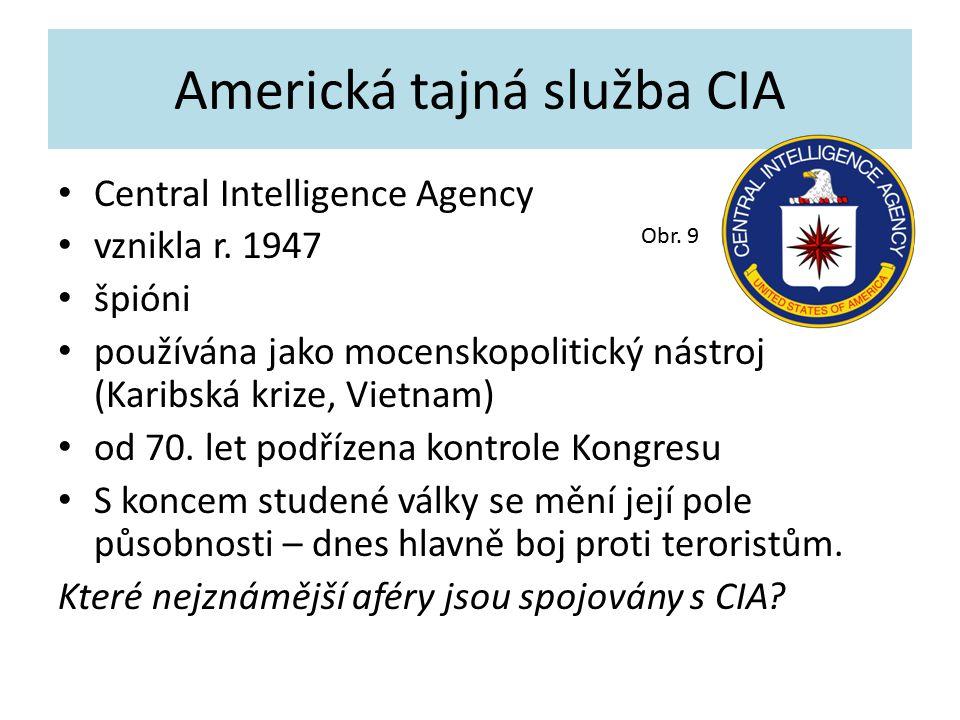 Americká tajná služba CIA