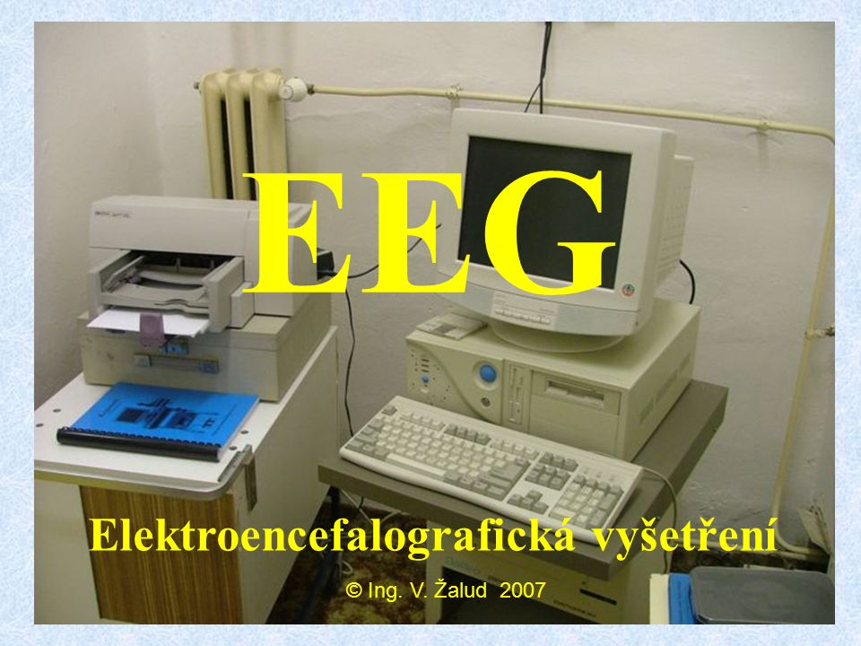 Elektroencefalografická vyšetření