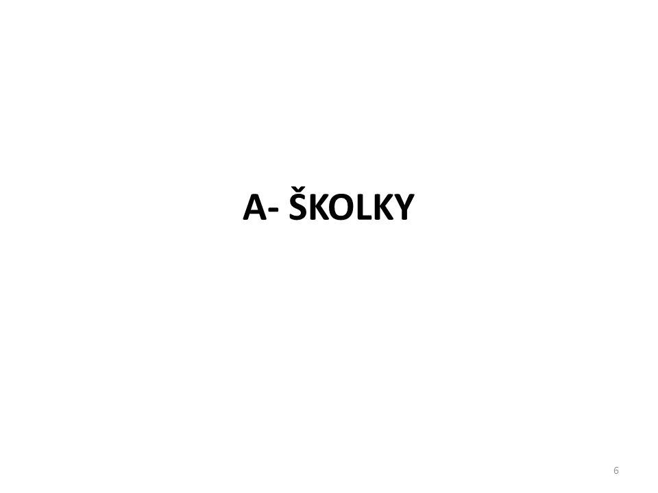 A- ŠKOLKY