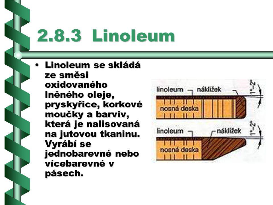2.8.3 Linoleum