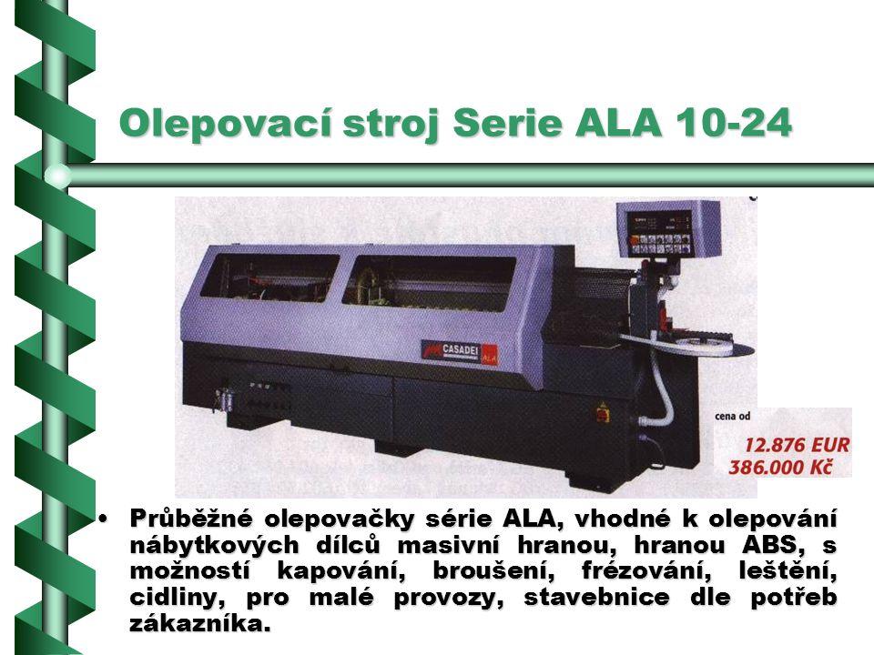 Olepovací stroj Serie ALA 10-24
