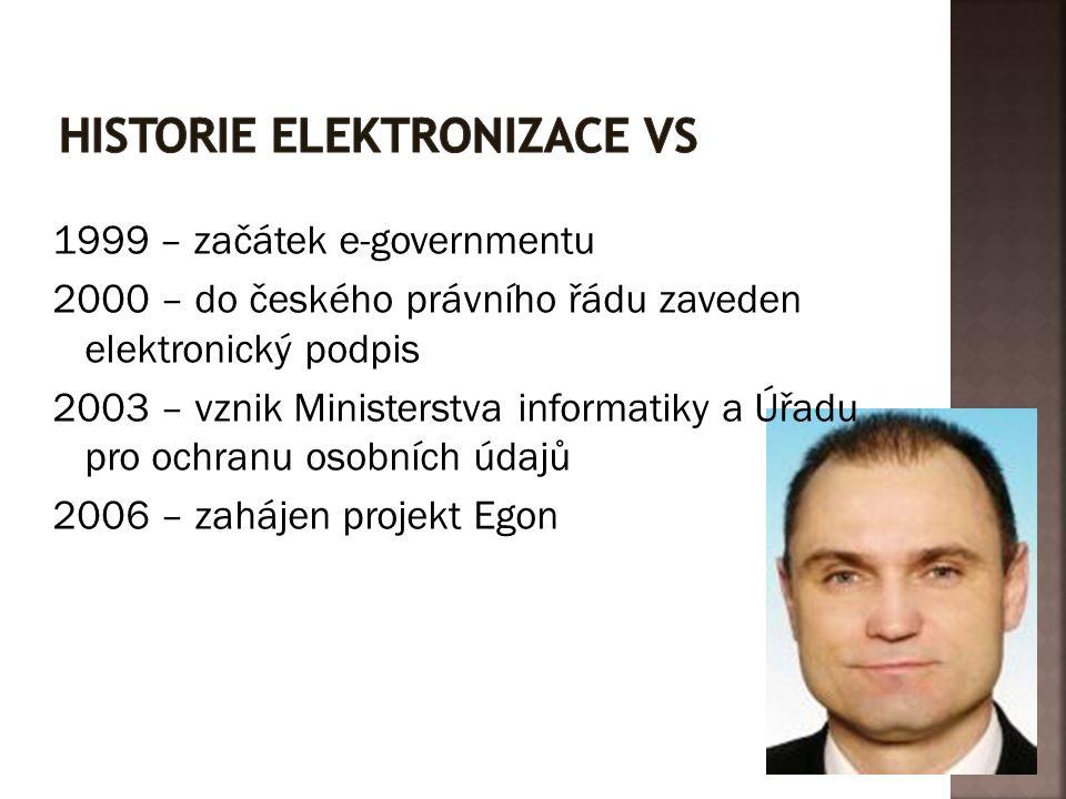 Historie elektronizace VS
