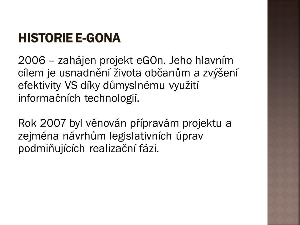 HISTORIE E-GONA