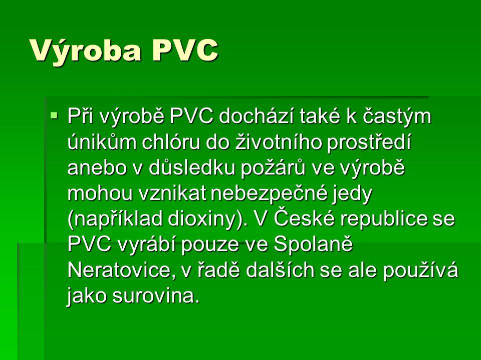 Výroba PVC
