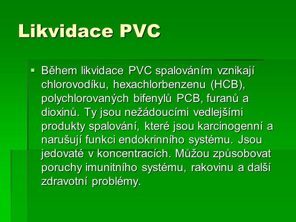 Likvidace PVC