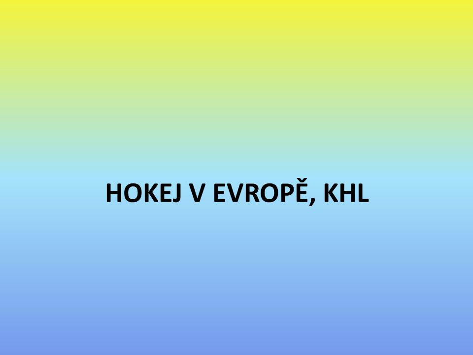 HOKEJ V EVROPĚ, KHL