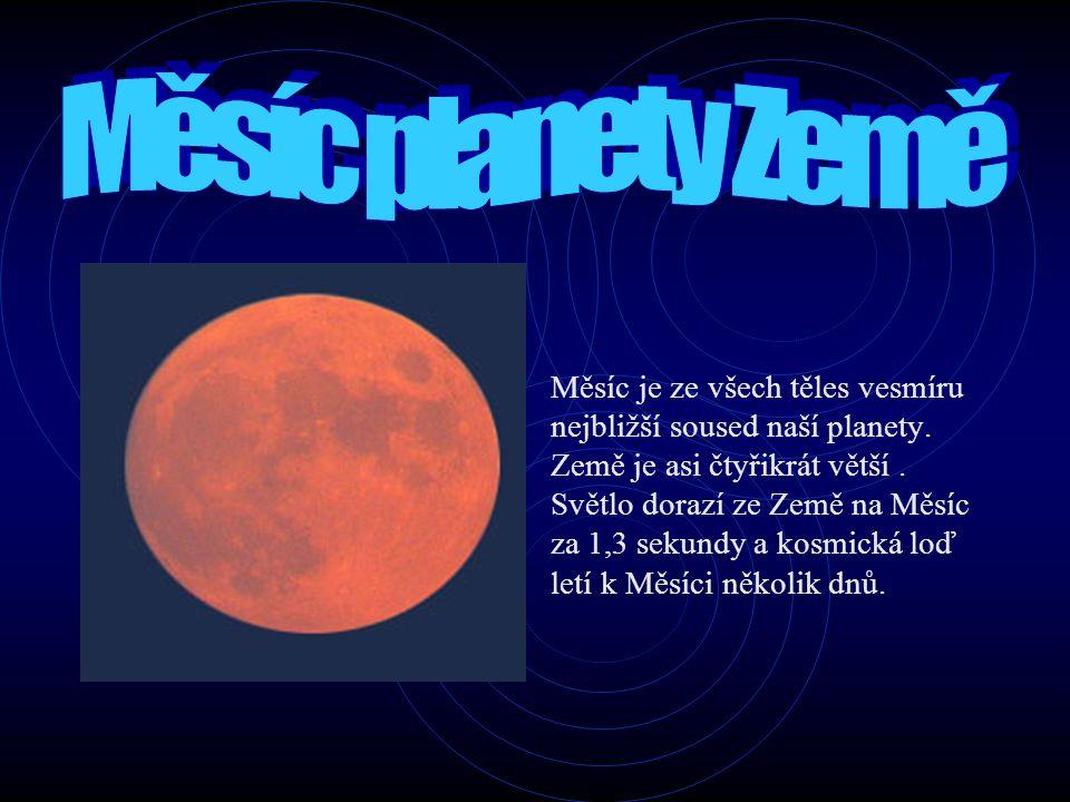 Měsíc planety Země