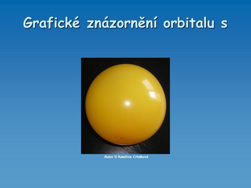 Grafické znázornění orbitalu s